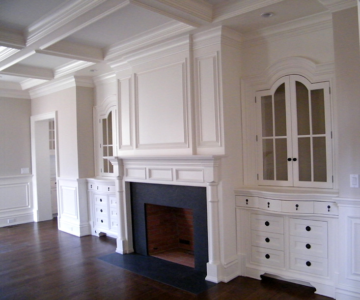 Custom Cabinetry and Details