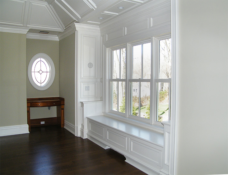 Custom Designed Woodwork and Trim